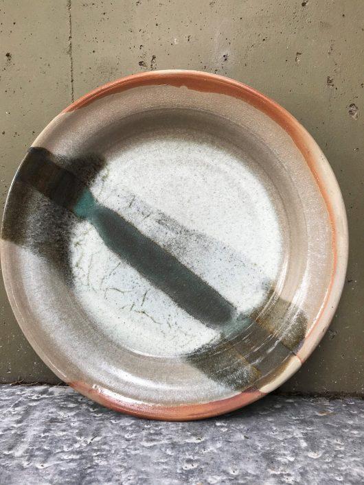 Platter - Celadon glaze under white glaze